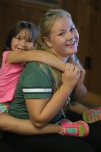 Touring Choir members make are fun mentors!