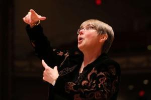 Darlene Sang, Treble Choir Director.