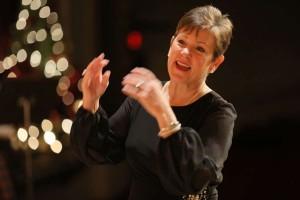 Betsy Craig directs the Prep Choir.